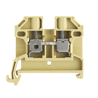 Weidmuller, SAK2.5/35 Screw Clamp Terminal, Beige, 2.5mm