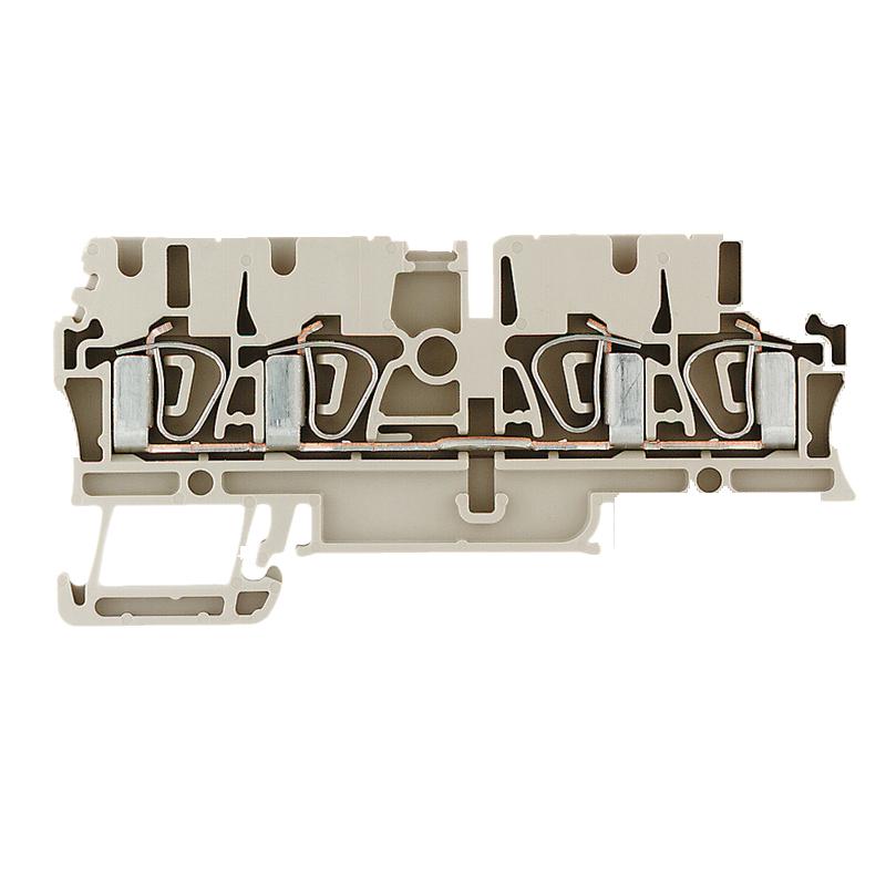 Weidmuller, ZDU 2.5/4AN Feed-through terminal block