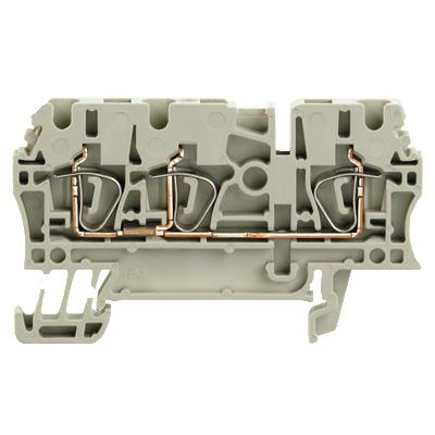 Weidmuller, ZDU 2.5/3AN GR Feed-through terminal block