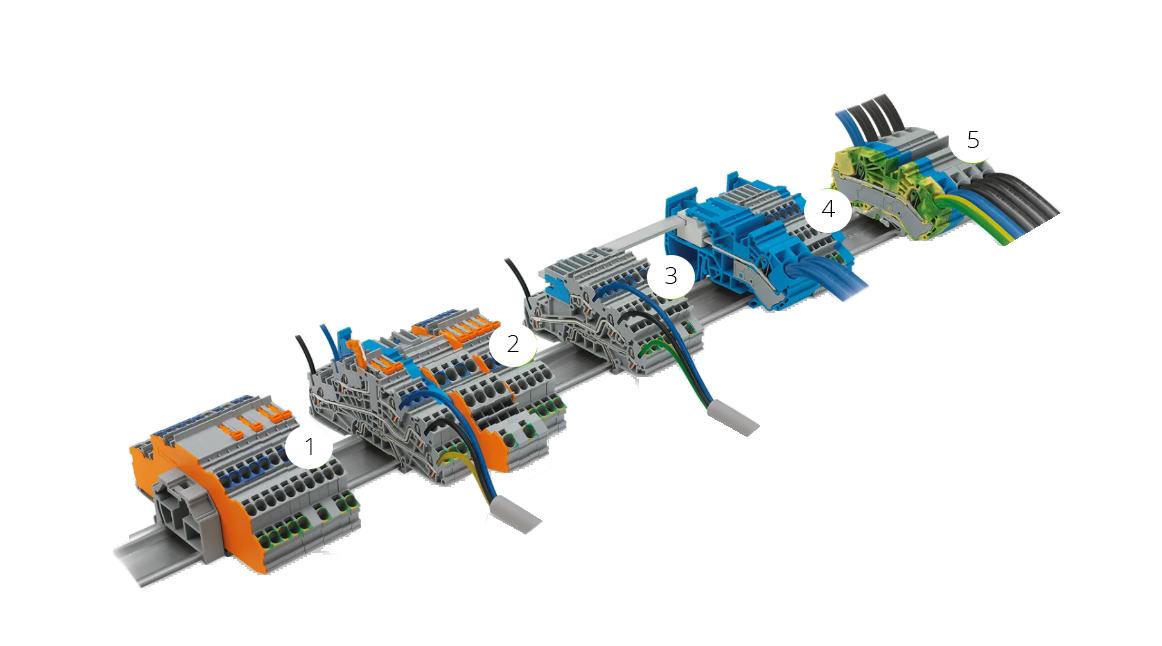 Wago TOPJOB S Terminal Blocks