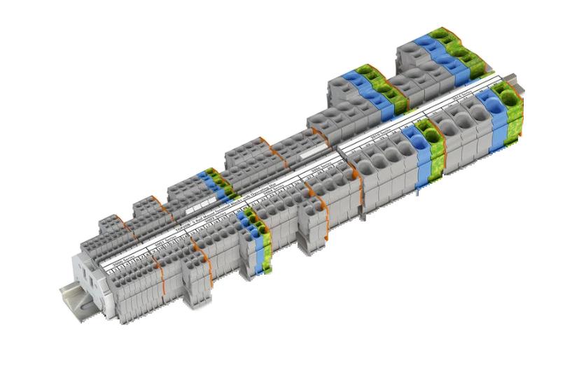 Wago Topjob Terminals With Operating Slot