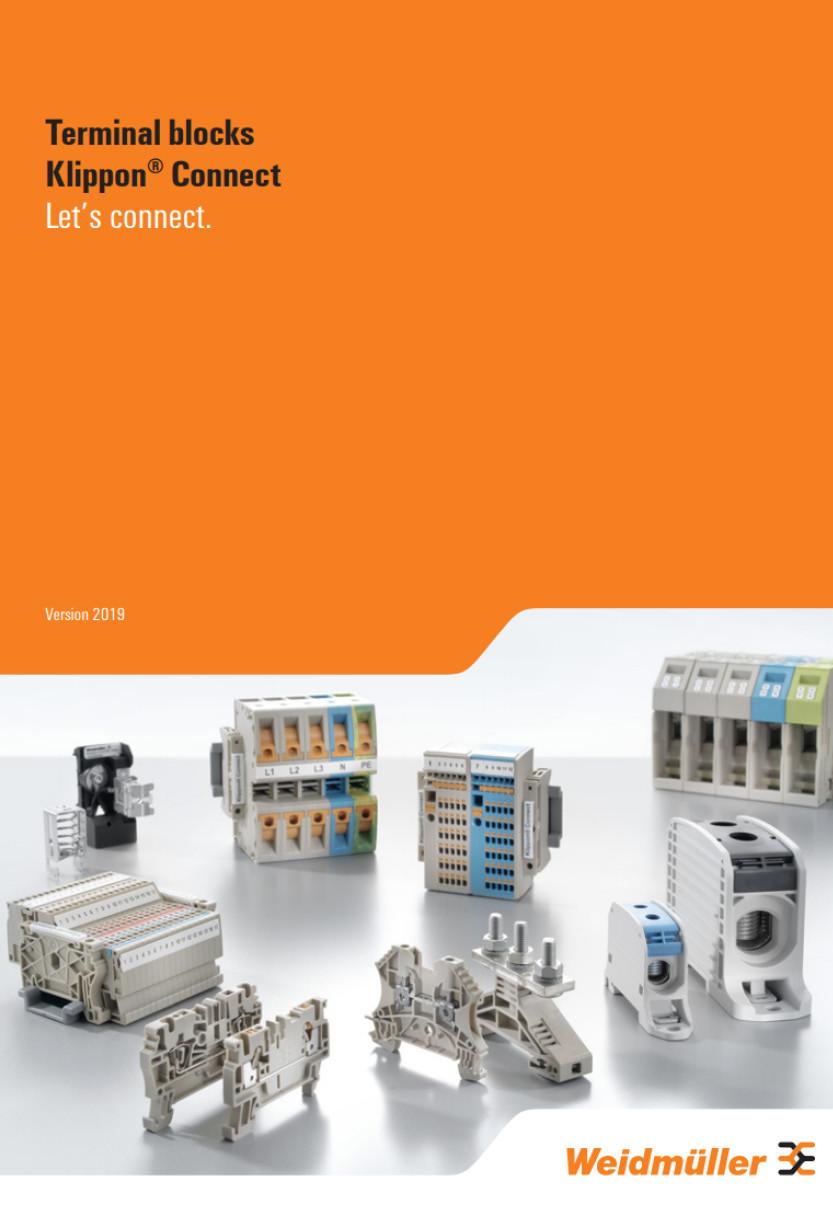 Weidmuller Terminals Brochure