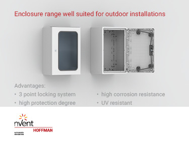 Beat the Elements with nVent Hoffman's Range of Polyester Enclosures