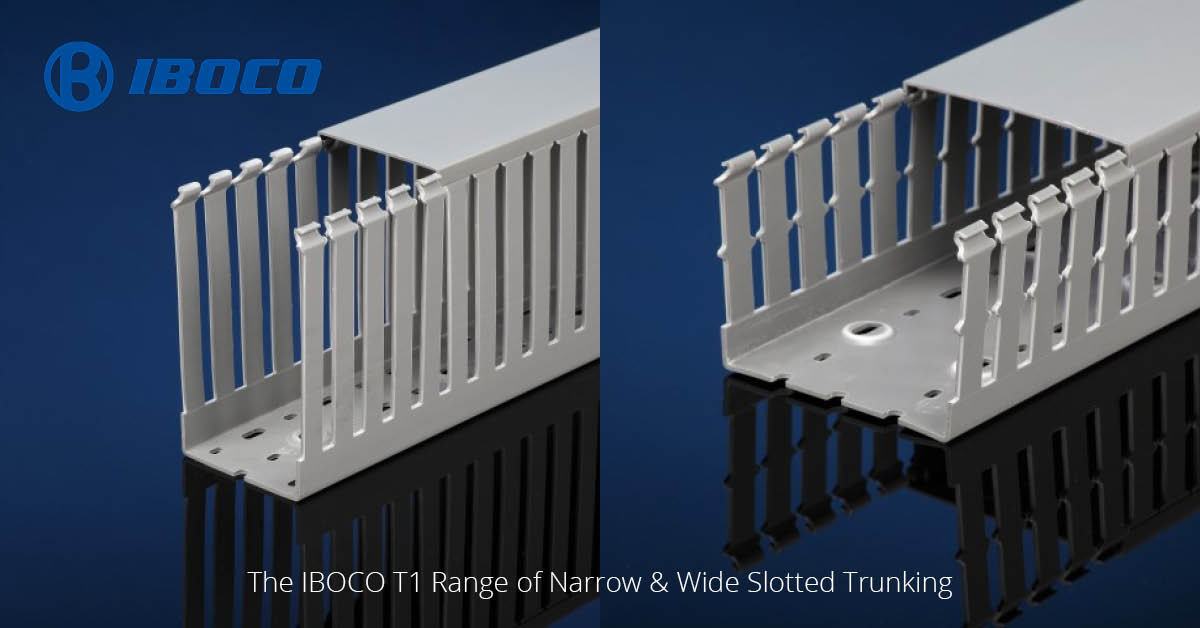 New to TLA! The IBOCO T1 Range Of Panel Trunking