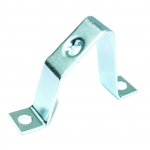 45 Degree, M6 Threaded, Angled Stand Off Bracket, Zinc Plated steel