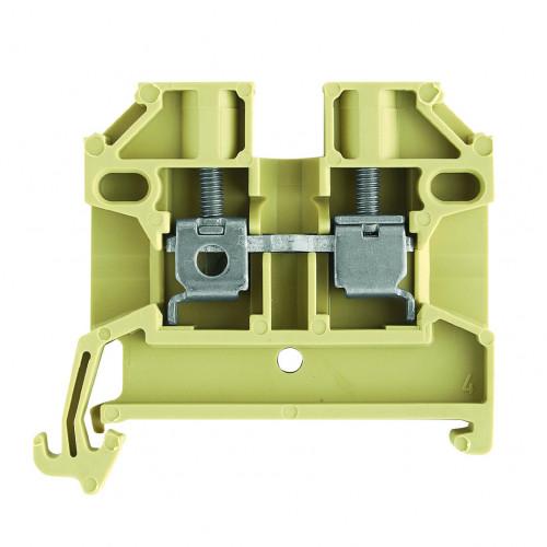 Weidmuller, 0380460000, SAK2.5/35, SAK Series, Feed-through Terminal, 2.5mm², Screw connection, 800 Volt, 24 Amps, Beige