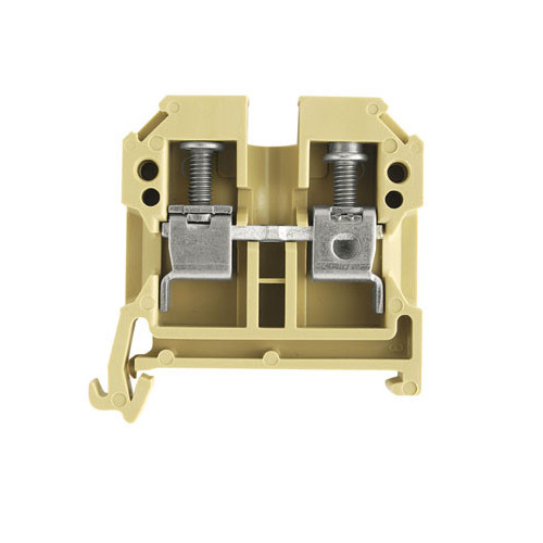 Weidmuller, SAK6/35PA Screw Clamp Terminal, Beige, 6.0mm