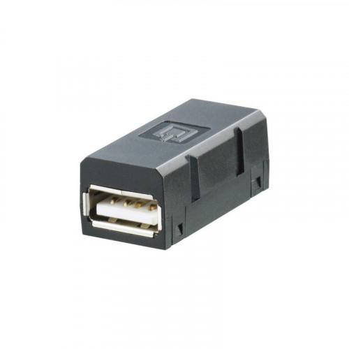Weidmuller, 1019570000, IE-BI-USB-A, FrontCom Vario, Data & Power Insert Module, USB Flange Insert Type A,
