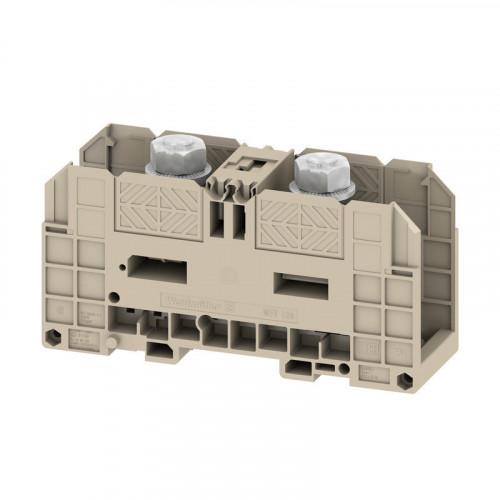 Weidmuller, WFF 120 Double Stud Terminal Block, 2 x M10 Studs, Maximum 269 Amps