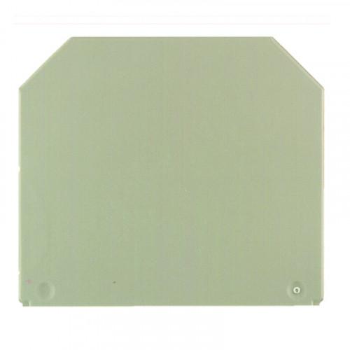 Weidmuller, WDU WAP 16-35  End Plate, Dark Beige, To Suit WDU Terminals 16.0 - 35.0mm