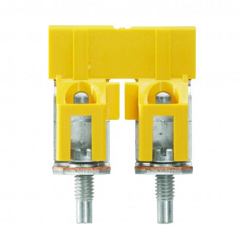 Weidmuller, WDU Cross-connector, Screw, To Suit WDU 35mm Terminals, 2 Poles, Maximum 125 Amps, IP20