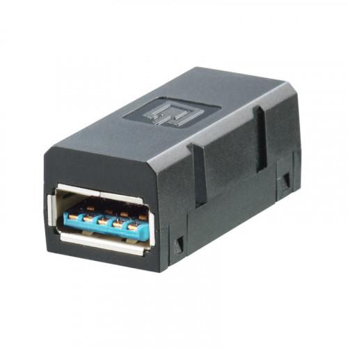 Weidmuller, 1487920000, IE-BI-USB-3.0-A,FrontCom Vario,Data & Power Insert Module,USB Type A