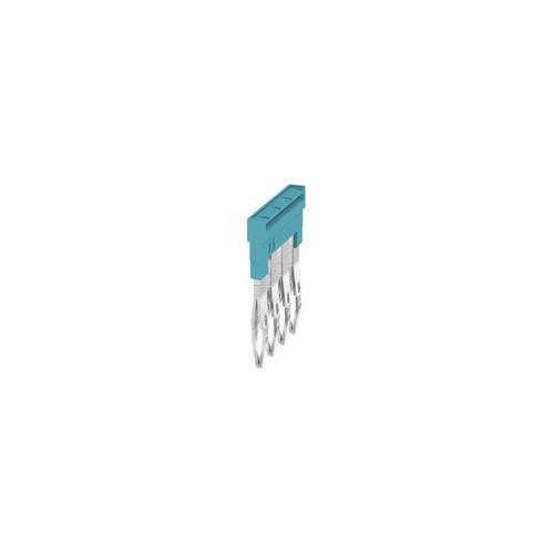 Weidmuller, 1527780000, ZQV2.5N/4BL, Cross-connector, Blue, 4 Way