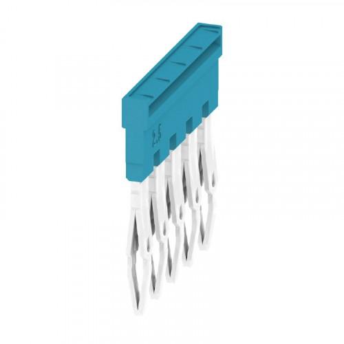 Weidmuller, 1527790000, ZQV2.5N/5BL, Cross-connector, Blue, 5 Way,