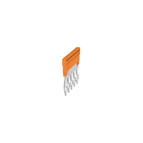 Weidmuller, 1527980000, ZQV4N/5, Cross-connector, Orange, 5 Way