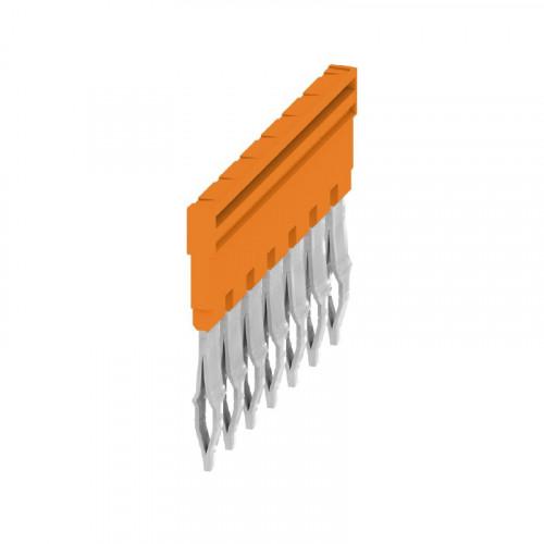 Weidmuller, 1528020000, ZQV4N/7, Cross-connector, Orange, 7 Way