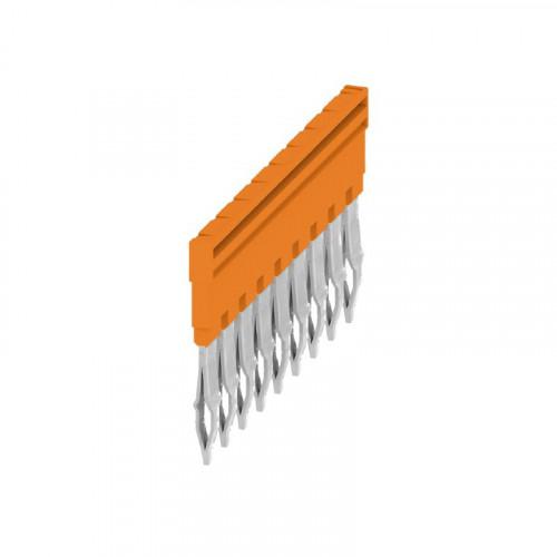 Weidmuller, 1528070000, ZQV4N/9, Cross-connector, Orange, 9 Way