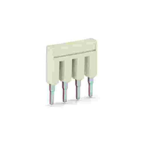 Wago, TOPJOB S Cross-connector, Pluggable, To Suit 4.0mm Terminals, 5 Poles, Maximum 32 Amps, IP20