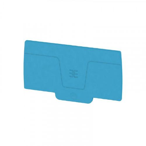 Weidmuller, 2490390000, AEP2C10/16BL, A-series, End Plate, Blue,