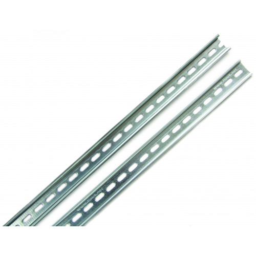 TS35, M6 Slotted Din Rail, Height 35mm, Depth 7.5mm
