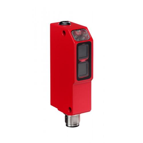 50025609, Leuze, PRK95/44L.4, Polarized, Retro-reflective, Photoelectric Sensor, Range 0-1.8m, M12, 4 Pin, 10-30V DC,