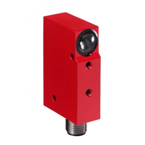 50032798, Leuze, PRK18/24DL.46, Polarized, Retro-reflective, Photoelectric Sensor, Range 0-3m, M12, 5 Pin, 10-30V DC,