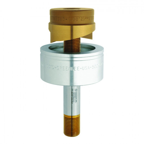 Klauke, (Greenlee ) Slug Splitter®, Circular Punch Part, 20.4mm Ø, Suitable For 3.5mm Stainless Steel (V2A), Steel Sheet (St37), Plastic / Aluminium > 3.5mm