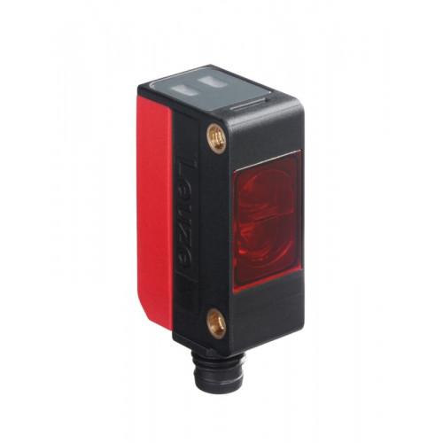 50117706, Leuze, PRK5/4P-M8, Polarized, Retro-reflective, Photoelectric Sensor, Range 0.02-4.5m, M8, 4 Pin, 10-30V DC,