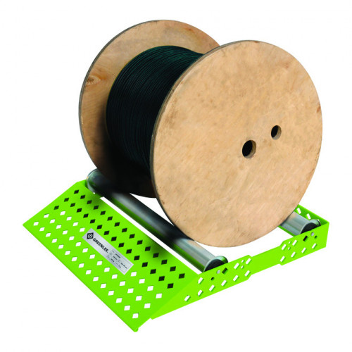 Easy Roller Cable Drum Winder, For Up To 500mm Wide Reels, Max Load 200Kg