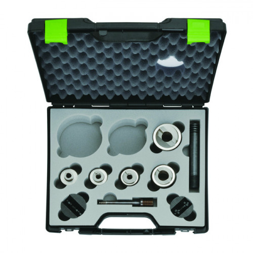 Klauke, 52055439SET, (Greenlee ) Speed Punch™, Slug Splitting Set, Includes Punch And Die Sets, 16,20,25,32,40mm, 9.5mm And 19mm Speed Locks And Draw Studs,