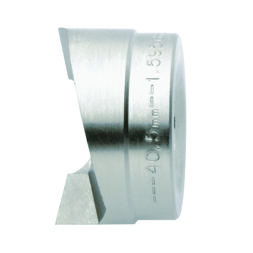Speed Punch™, Circular Punch Part, 22.5mm Ø, Suitable For 3.5mm Steel Sheet (St37), Plastic / Aluminium > 3.5mm