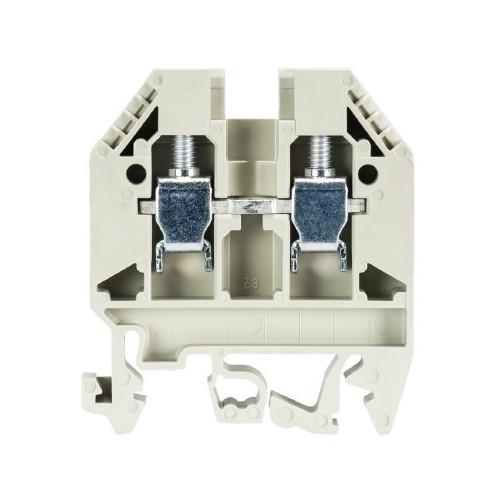 Wieland, 57.506.0055.0, WK6/U, Screw Clamp Terminal, Grey, 6.0mm