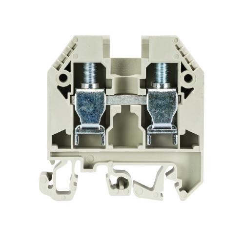 Wieland, 57.510.0155.0, WKN10/U, Screw Clamp Terminal, Grey, 10mm