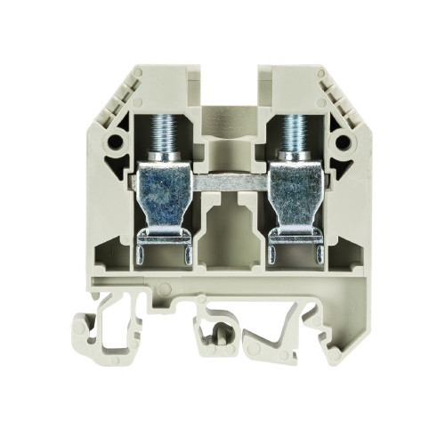 Wieland, 57.516.0155.0, WKN16/U, Screw Clamp Terminal, Grey, 16mm