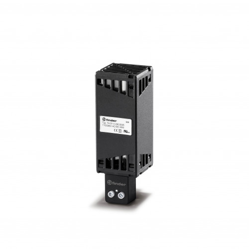 Finder, 7H.51.0.230.0025, Panel Heater, PTC Self Regulating, Safe Touch, DIN Rail Mounting, 25W, 100-230V AC/DC, Screw Terminals,