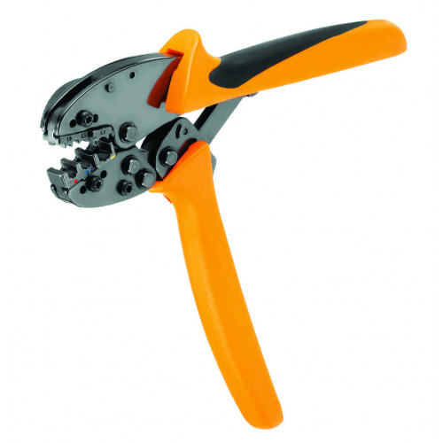 CTI 6 Pre Insulated Ratchet Crimpers, To Suit Red, Yellow, Blue Crimps