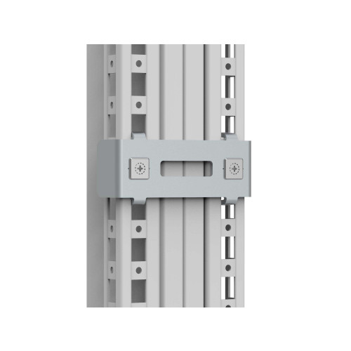 nVent Hoffman, CCI06, CCI Internal Baying Brackets, 3mm Zinc Plated Steel, 6 Brackets With Mounting Accessories,