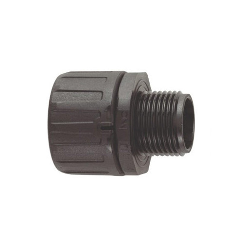 FPA Nylon PA66, Fixed Type, Black, External M20 Threaded Gland, To Suit FPAS20 Conduits, IP66