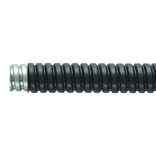 Flexicon, FSU Galvanised Steel, PVC Coated, Outside Ø 17.0mm, Inside Ø 13.0mm