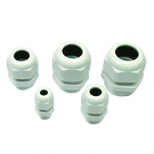 PG9 Black Polyamide 6.6, UL94 V2, IP68, Cable Entry Ø 4.0 - 8.0mm