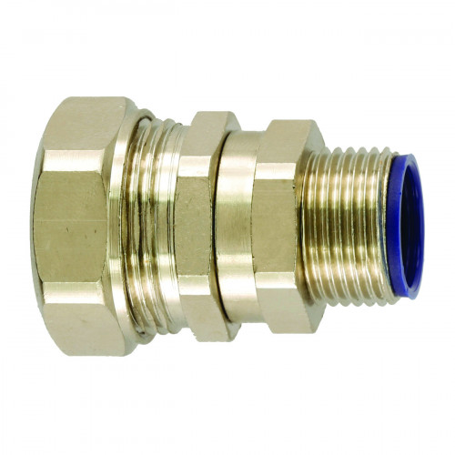 LTP Nickel Plated Brass, Swivel Type, External M16 Threaded Gland, To Suit LTP12 Conduits, IP66/67/68/69K