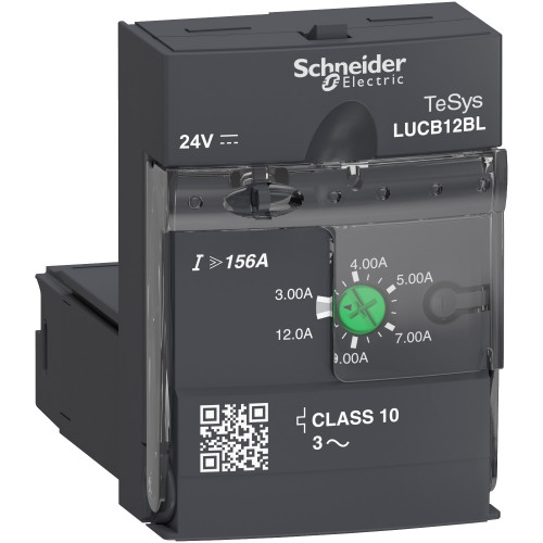 Schneider Electric, LUCB Advanced Control Unit, Class 10, 24V DC, 3.0 - 12.0 A