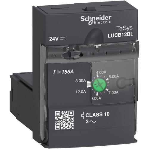 Schneider Electric, LUCB12BL, LUCB Advanced Control Unit, Class 10, 24V DC, 3.0 - 12.0 A