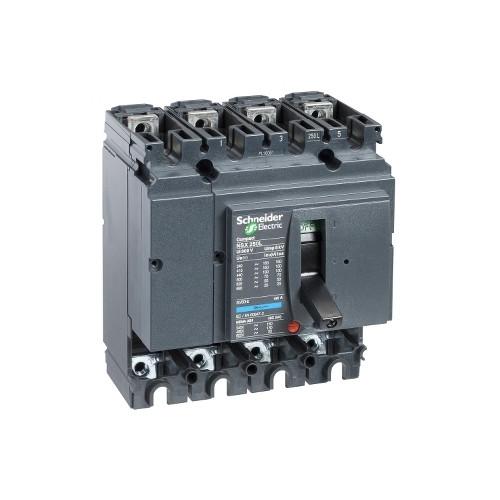 Schneider Electric, LV431411, Compact NSX250N MCCB,Fixed,Basic Frame,No Trip Or Protection,4P,250A,50kA,415V AC