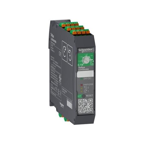 Schneider Electric, LZ2H6X53BD, TeSys H, Reversing Starter, 3kW, 1.5-6.5 Amp, 24V DC, Spring Terminals
