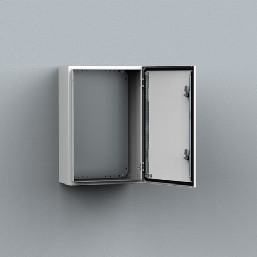 nVent Hoffmann,  Single Door Enclosure, 400H x 300W x 210D, C/W Mounting Plate, IP66, RAL7035