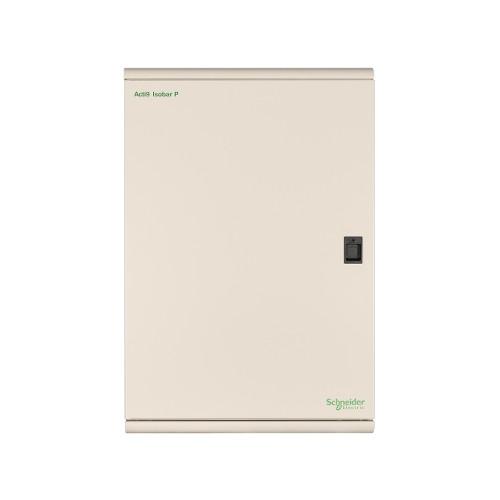 Schneider Electric, SEA9BPN18, Acti9 Isobar P, 18 Way, 250 Amp, TP+N, Type B, Metal, Distribution Board,