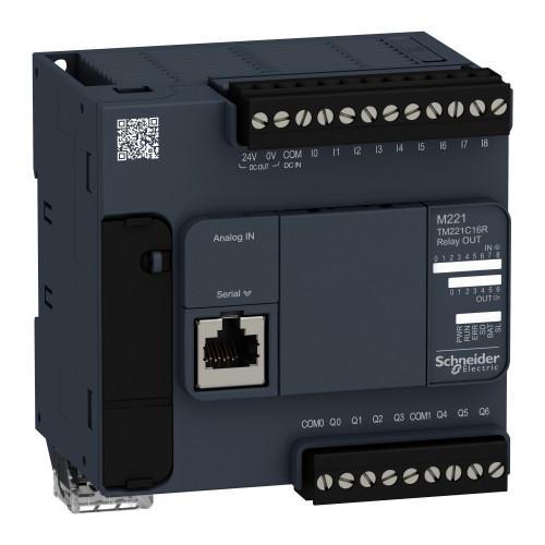 Schneider-TM221C16R-plc