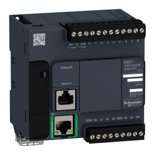 Schneider-TM221CE16R-PLC