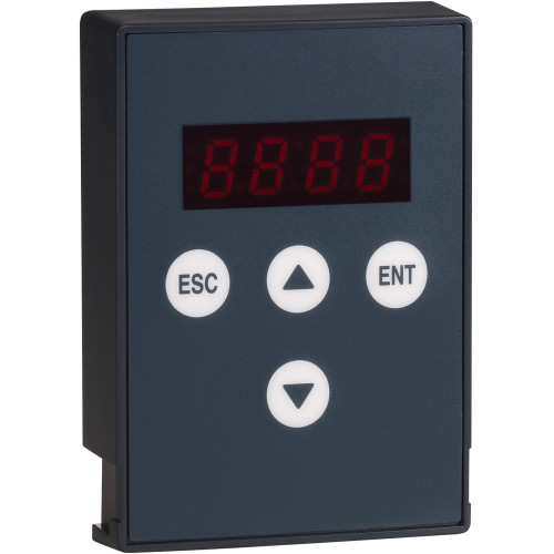 Schneider Electric, VW3G22101, Remote Keypad Terminal, Compatible With ATS22 Softstarts, IP54
